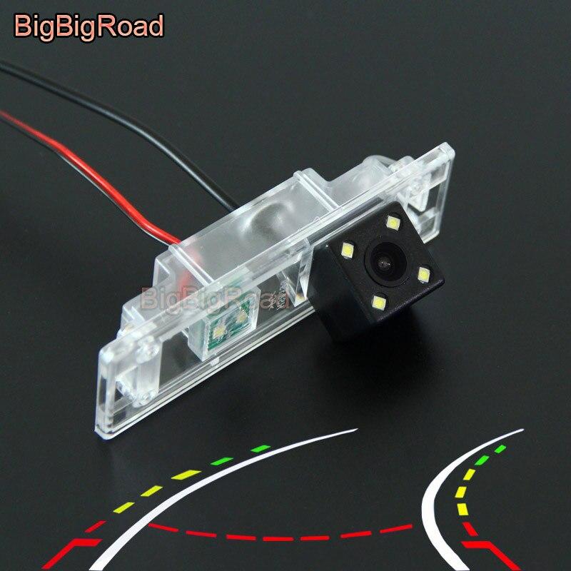 BigBigRoad Voiture Dynamique Intelligent Trajectoire Pistes Arrière Vue CCD Caméra Pour BMW Mini Cooper R55 R57 R60 R61 Z4 E85 e86 E89