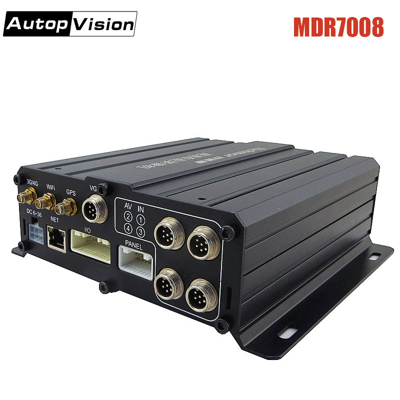 MDR7008 Surveillance Video Recorder DVR Real-time HD Video Recording,D1/HD1/CIF For Optional