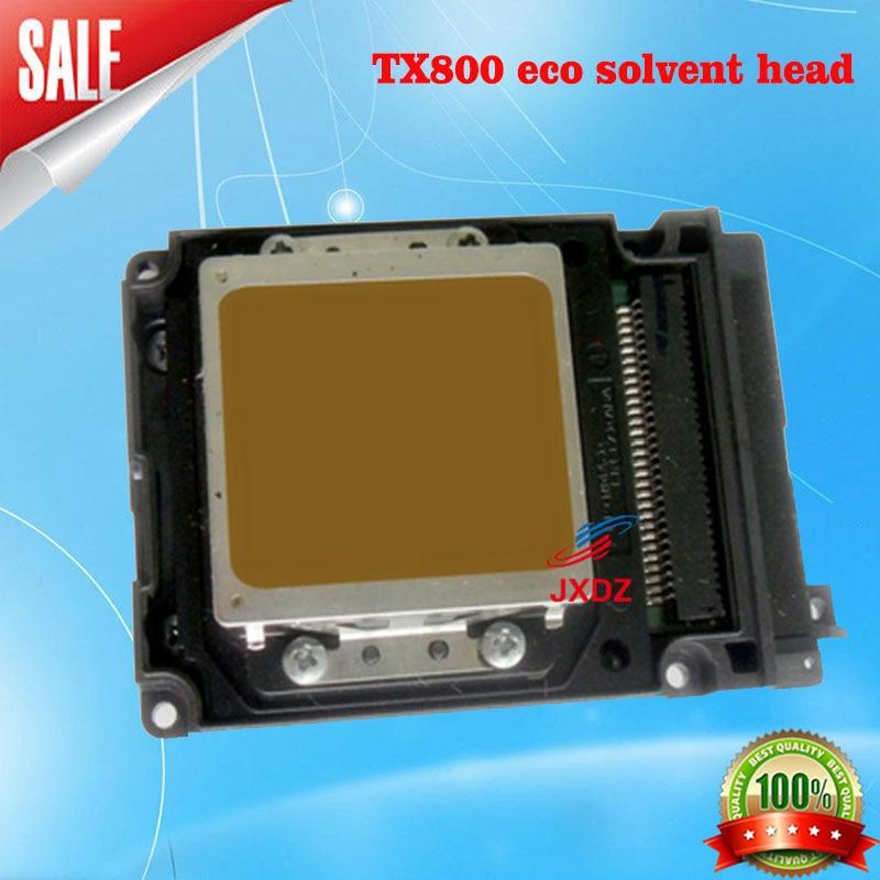 Tx800 six color eco solvent head new UV weak solvent Micro piezoelectric photo machine nozzle Ep eight or ten generation TX800 6pcs set cmyklclm permanent roland xc 540 eco solvent chips