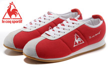 Le Coq Sportif Women's Running Shoes,High Quality Embroidery Logo Le Coq Sportif Women's Athletic Shoes Sneakers Red Color 3