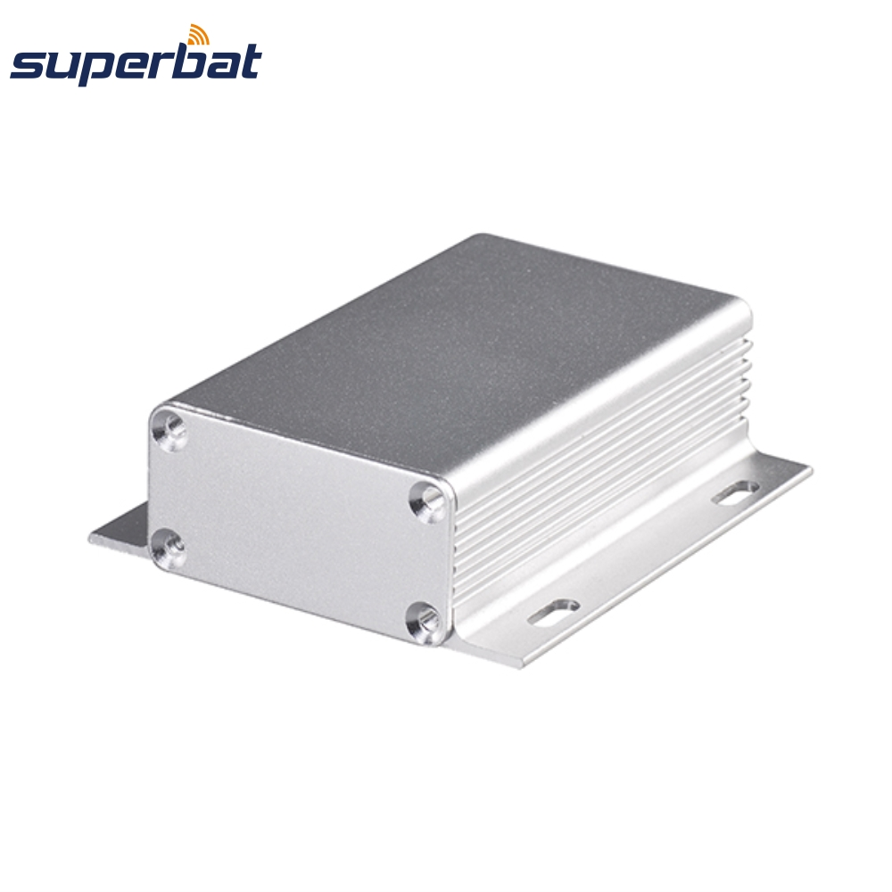 New 80*71*25 mm Extruded Silver Aluminum Electronic Instrument Enclosure Amplifier PCB Project DIY Box Case 3.15″*2.80″*0.98″