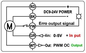 Image 4 - Brass/Stainless Steel 1 Proportional Valve 0 10V 4 20mA 0 5V 2 Way DN25 Voltage DC12V DC24V For Water Modulating Control