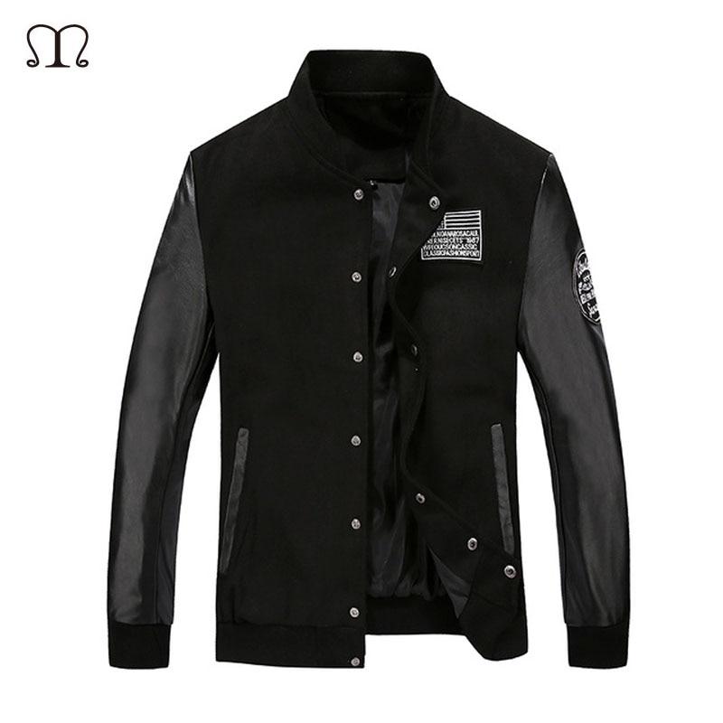 Cheap Leather Bomber Jacket