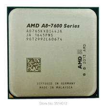 AMD A8-Series A8 7650 A8 7650K 3.3GHz Quad-Core processeur d'unité centrale AD765KXBI44JA Prise FM2 +