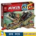 378 unids ninja nueva 10581 sombra de destiny diy bloques de construcción modelo niños regalos juguetes compatible con lego