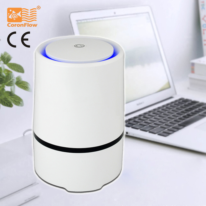 CoronFlow Home and Office Desktop HEPA Filter Air Purifier Portable Ionizer GL 2103