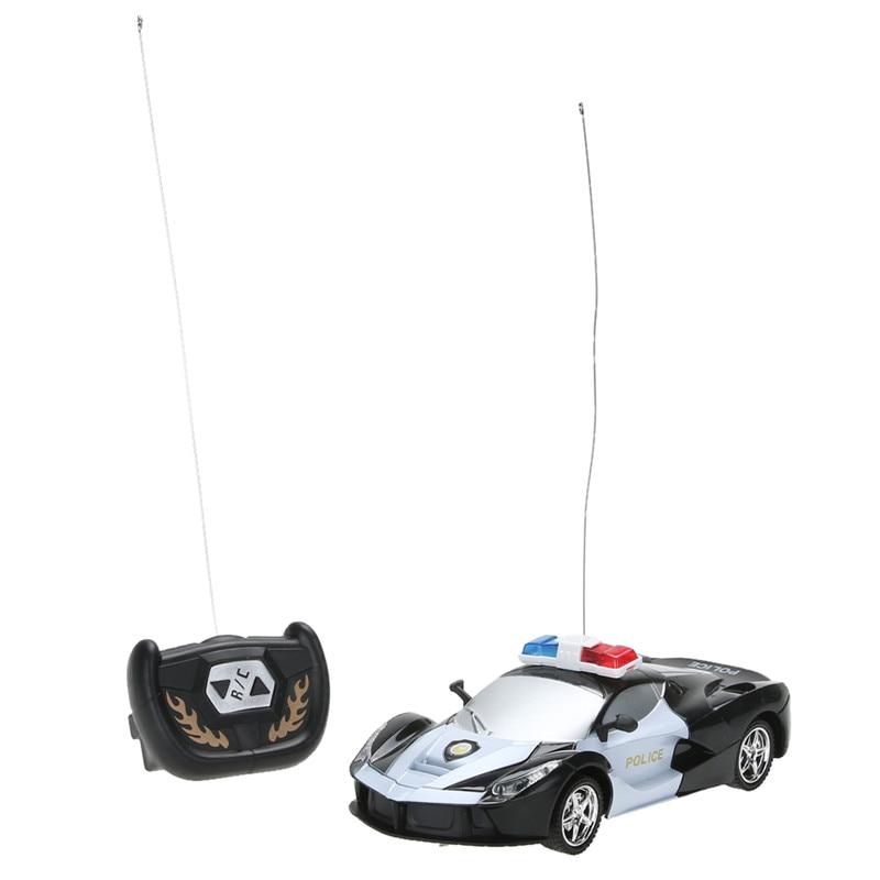 1/24 Дрифт Скорость Радио Дистанционное управление RC RTR полиции гоночный автомобиль игрушки высокого Скорость RC Игрушечные лошадки дети Игру…
