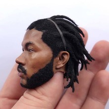 1/6 Scale Dreadlocks Ross Head Sculpt Basketball Star for 12inch Phicen HOT TOY Action figure toy