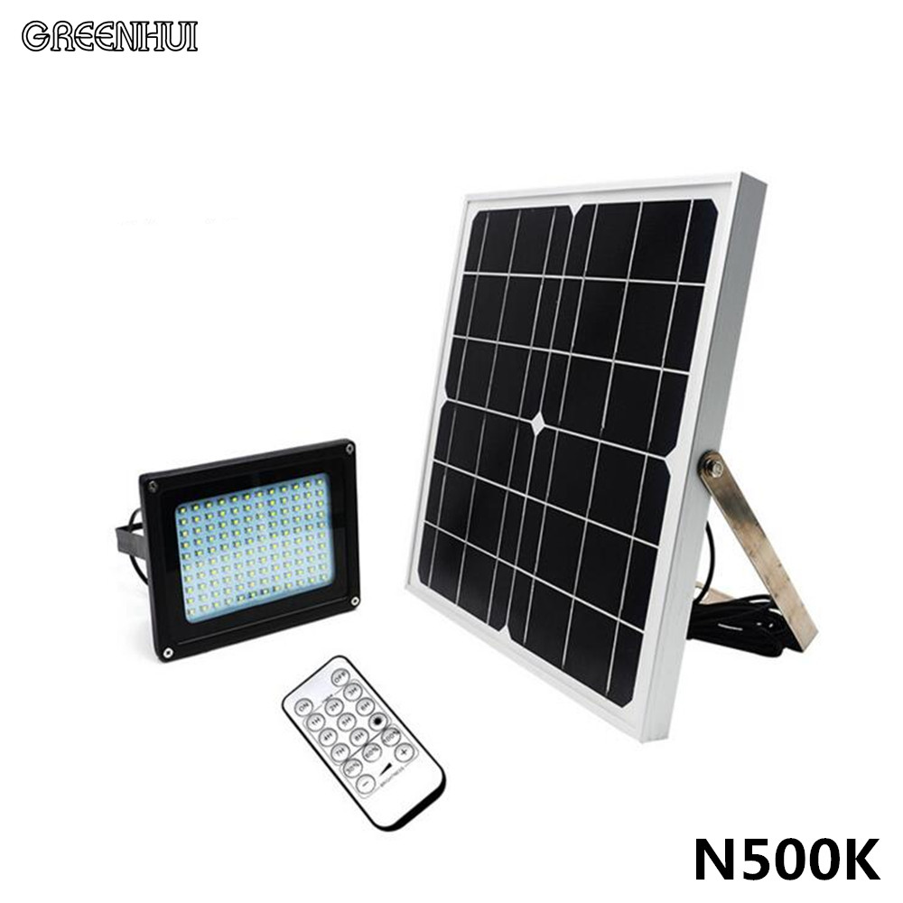 Outdoor Waterproof Solar Floodlight 120LED Spotlight Focused Solar LED Flag Light with Hardware for Flag Poles For Wall Driveway