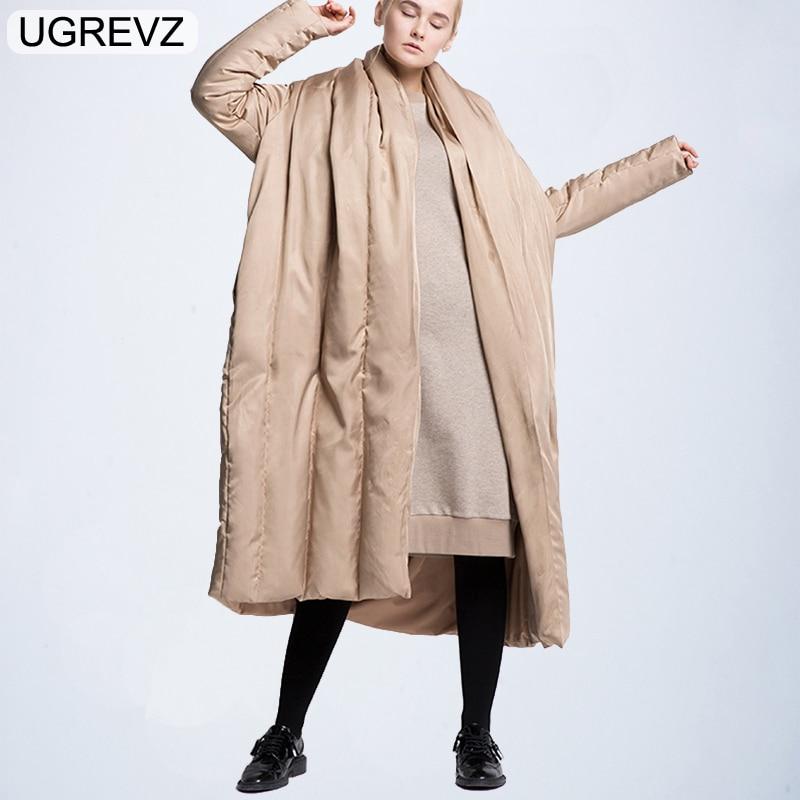 Winter Jacket Women 2018 Fashion Thick Warm Female Jacket Padded Down Cotton Coat   Parkas   Long Jaqueta Feminina Inverno Clothing