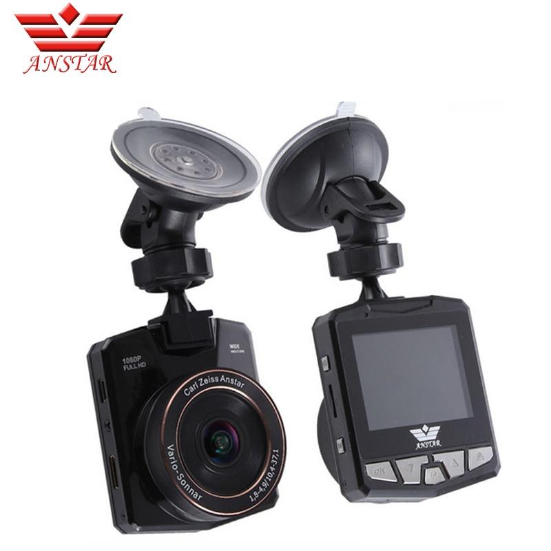 NEW HOT Anstar K1 Car camera Mini Car DVR 2 31 inch 170Angle Full HD 1080P