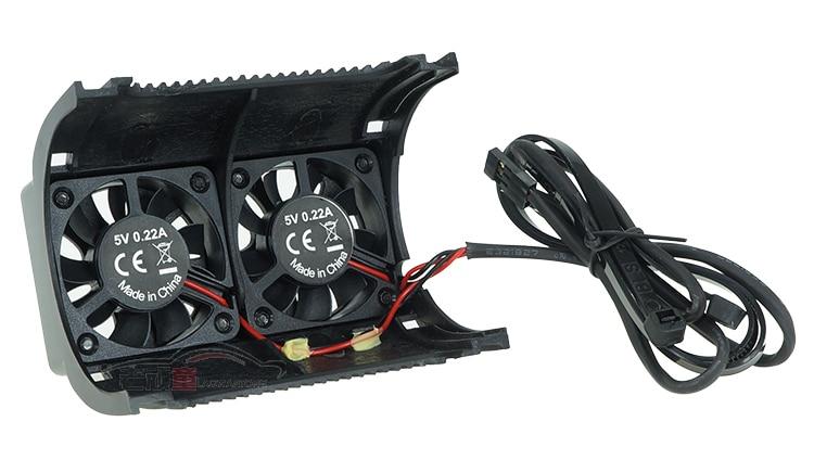 SKYRC twin motor cooling fan For 1//5 scale motor SK-400008