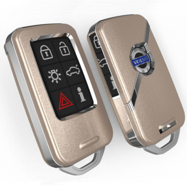 Volvo Key Replacement Cost: Remote Smart Key Case Cover Shell Holder For Volvo Xc60
