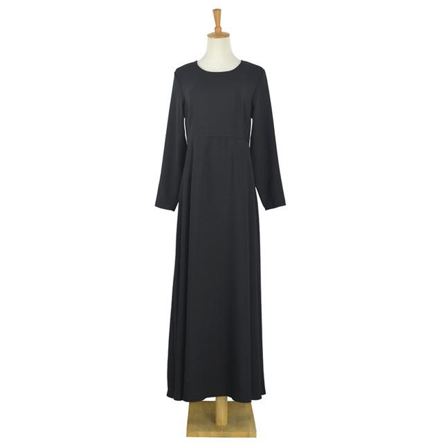 2016 Moda Negro Musulmán Dubai Abaya Ropa Islámica Para Las Mujeres Abaya Musulmán Vestido Abaya Jilbab Chilaba Musulmane Negro