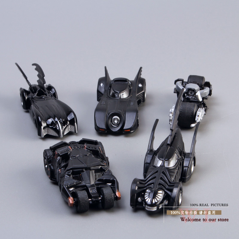 DC Tomica Limited TC Batman Metal Batmobile Super Heroes Collectible Model Toys 7cm/2.8 5pcs/set New in Box Free Shipping