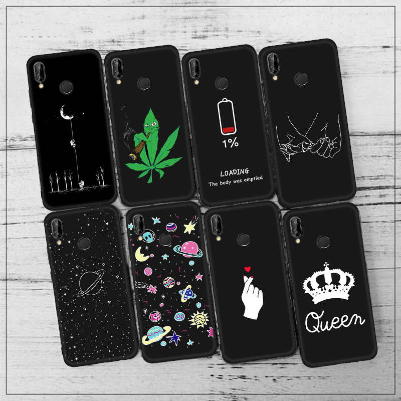 Cartoon Soft Case For Huawei Honor 8X Max 8C Note 10 9 8 Lite 7X Magic 2 6C Pro V9 Play Case Silicone Back Cover 8X Phone Case