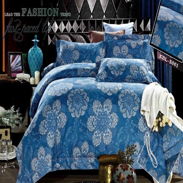 Home Textiles 3D Bedclothes 4PCS Bedding Sets King Or