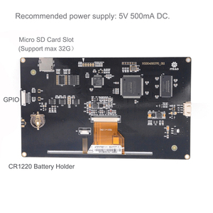 Image 4 - 7.0インチnextion強化抵抗NX8048K070_011R usart hmi lcdディスプレイモジュールw/エンクロージャarduinoのラズベリー