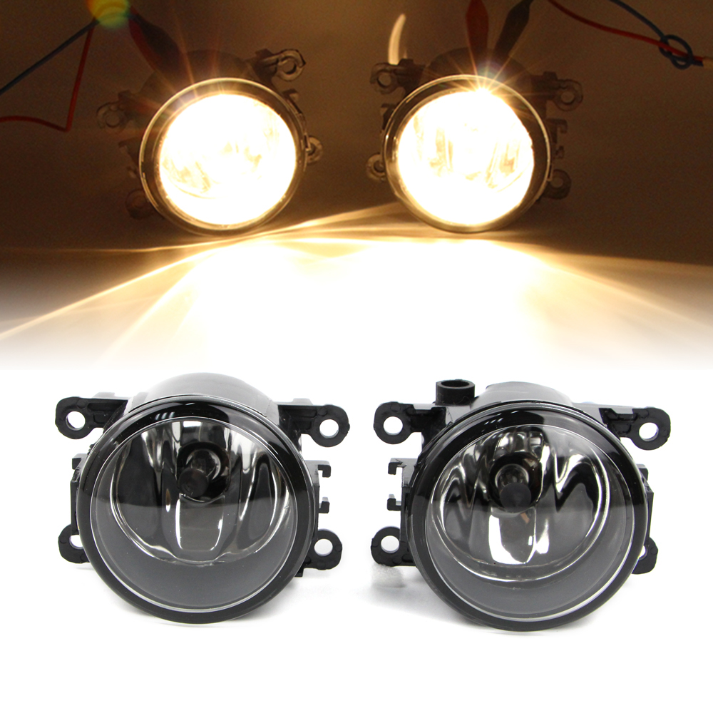 Pair Fog Light For Honda 2012 2013 2014 CR V Pilot