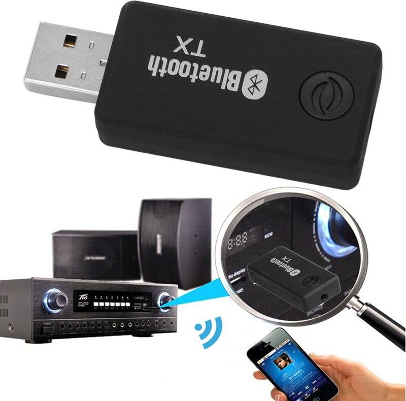 Gewidmet Mini 5 V 3,5mm Usb Bluetooth Stereo Audio Musik Transmitter Adapter Für Tv Mp3 Pc Um Sowohl Die QualitäT Der ZäHigkeit Als Auch Der HäRte Zu Haben Tragbares Audio & Video