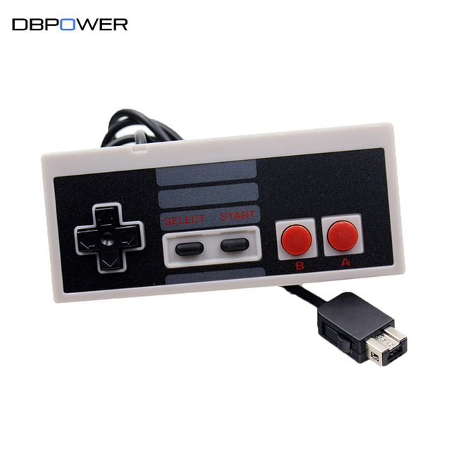 DBPOWER USB Wired NES Gaming Controller Joystick Classic Edition Mini Console Gamepad With Extension Cable Cord 1.8/3M Optional