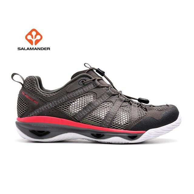 SALAMANDER Men s Summer Outdoor Water Aqua Hiking Sandals Shoes Sneakers  For Men Sports Mountain Trail Shoes Sneaker Man 0b33cc420ac7
