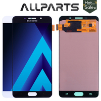 Original 5 5 Super AMOLED LCD For SAMSUNG Galaxy A7 2016 LCD Display A7100 A710F A710