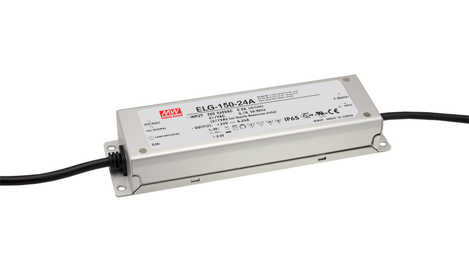 ФОТО [PowerNex] MEAN WELL original ELG-150-54 54V 2.8A meanwell ELG-150 54V 151.2W Single Output LED Driver Power Supply