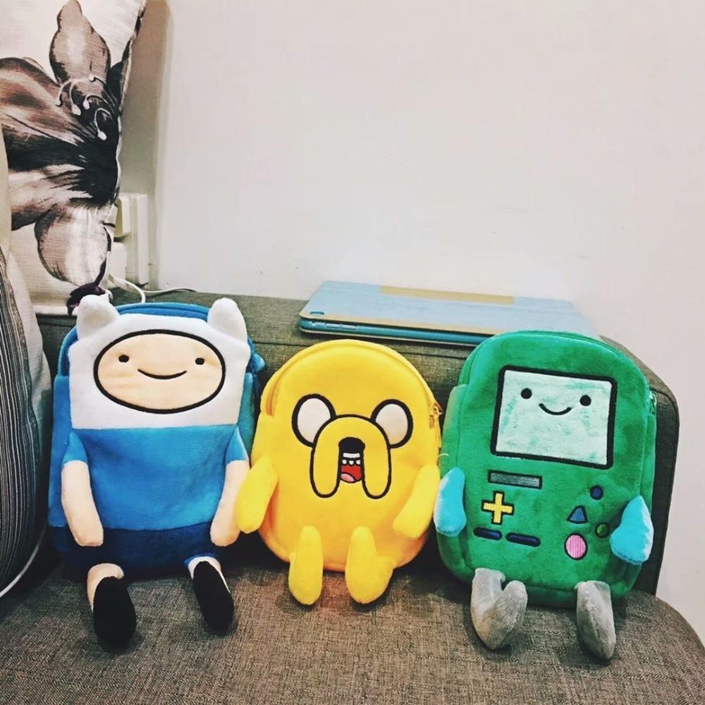 Beemo, Finn & Jake Figure Adventure Time Plush Crossbody Bag  3