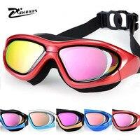 Pływanie arena okulary krótkowzroczność mężczyźni profesjonalne Anti Fog Wodoodporna Dorosłych pływać okulary gafas natacion optyczne okulary pływackie
