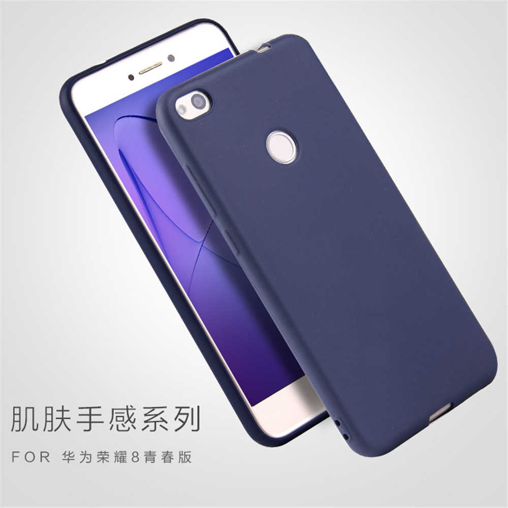 Case For Huawei P8 Lite 2017 TPU Silicone Clear Soft Case for Huawei P9 Lite 2017 On Honor 8 Lite case protective Back Cover 5.2