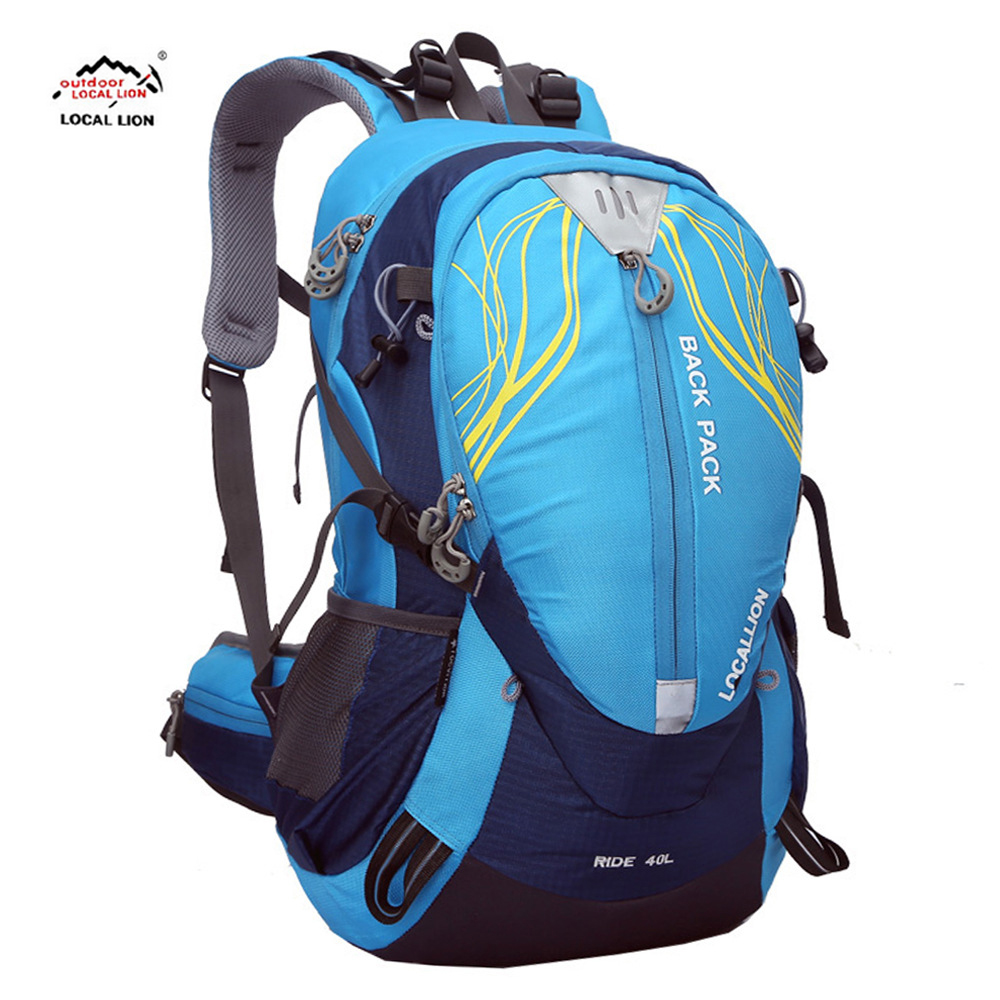 2017 LOCAL LION 40L Stent System Cycling Bag Waterproof Bike Shoulder Backpack Sport Outdoor Hydration Bicycle Cycling Water Bag wheel up bicycle rear seat trunk bag full waterproof big capacity 27l mtb road bike rear bag tail seat panniers cycling touring