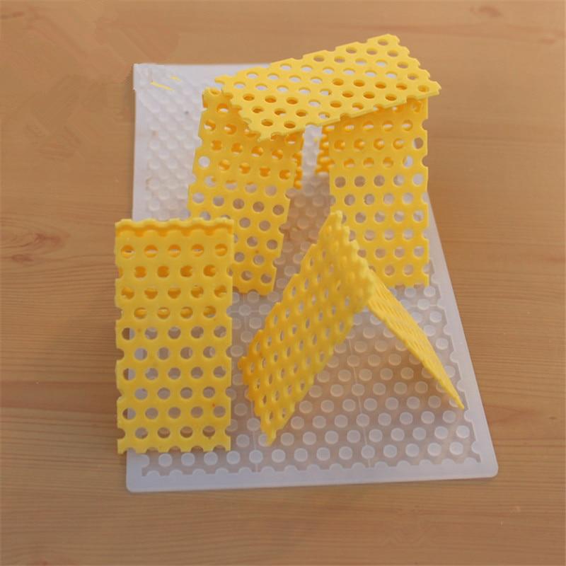 İsti DIY 3D arı qarışığı Silikon Şokolad qəlibindən - Mətbəx, yemək otağı və barı - Fotoqrafiya 2
