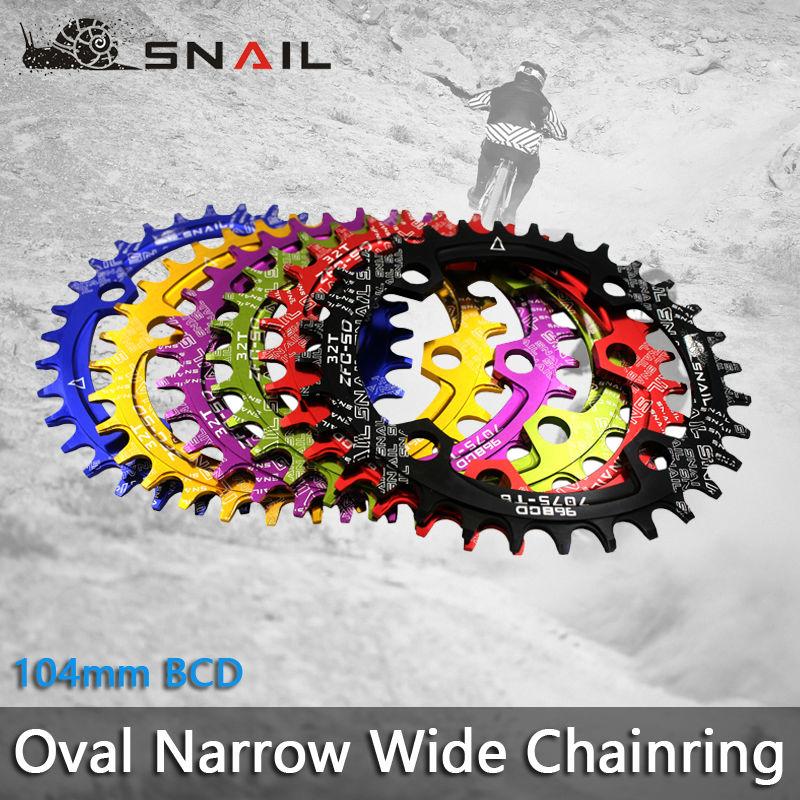 SNAIL 104BCD 32T / 34T / 36T Ultralight A7075 Alloy MTB Bike Bicycle - Հեծանվավազք - Լուսանկար 1