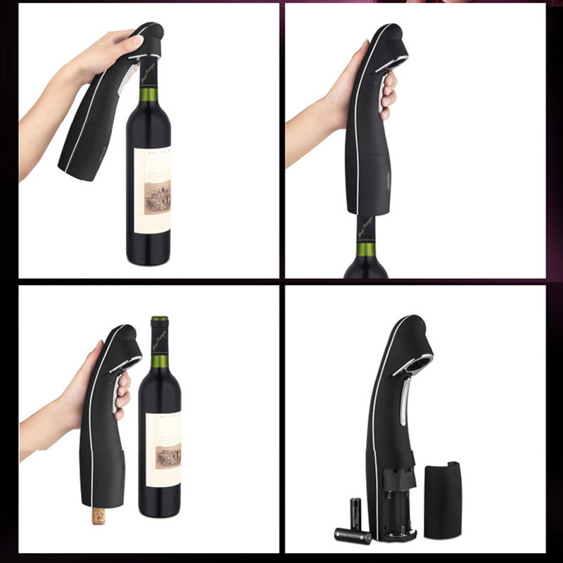 Electric Wine Opener Automatic Wine Bottle Corks Opener With Foil Cutter Store