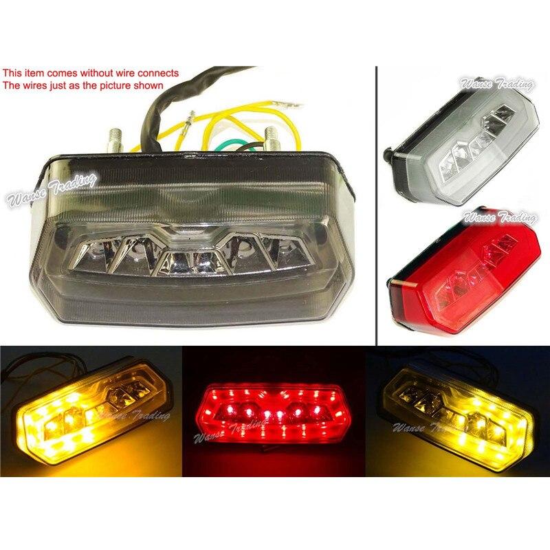 For Honda CB650F CBR650F CB CBR 650F 2014-2015 Rear Tail Light Brake Turn Signals Integrated LED Light Honda Grom