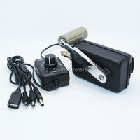 Открытый Портативный телефон Зарядное устройство гражданского ручной генератор небольшой генератор производство Китай с DC DC конвертер