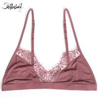 DeRuiLaDy Fashion Sexy Bras Exquisite Nylon Push Up Women Lingerie Comfortable Lace Bralette Ultra Thin One