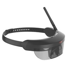2017 NEW Monocular transmission FPV display video intelligent glasses Support 5.8G FPV wireless video receiver and AV in for FPV