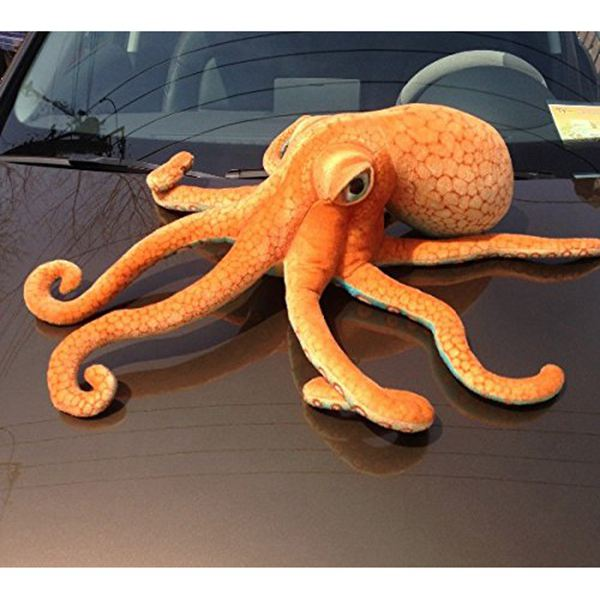 80CM Big Funny Cute Octopus Squid Stuffed Animal Soft Plush Toy Doll Pillow Decoration Gift