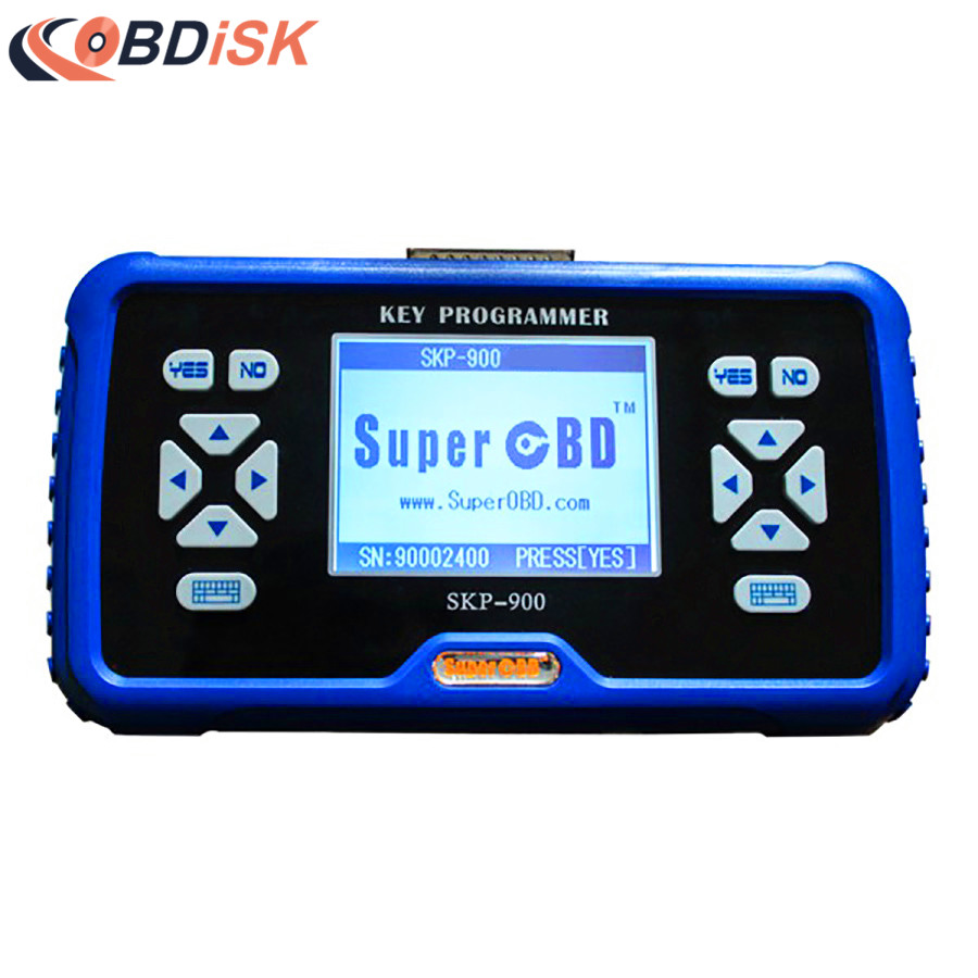 Original SuperOBD SKP 900 SKP900 V5.0 Key Programmer SKP-900 V5.0 Auto Key Programming Tool Support Almost All Cars