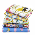 David accessories 50*145cm Cartoon patchwork Polyester cotton fabric for Tissue Kid Bedding home textile for Sewing Tilda,1Yc459