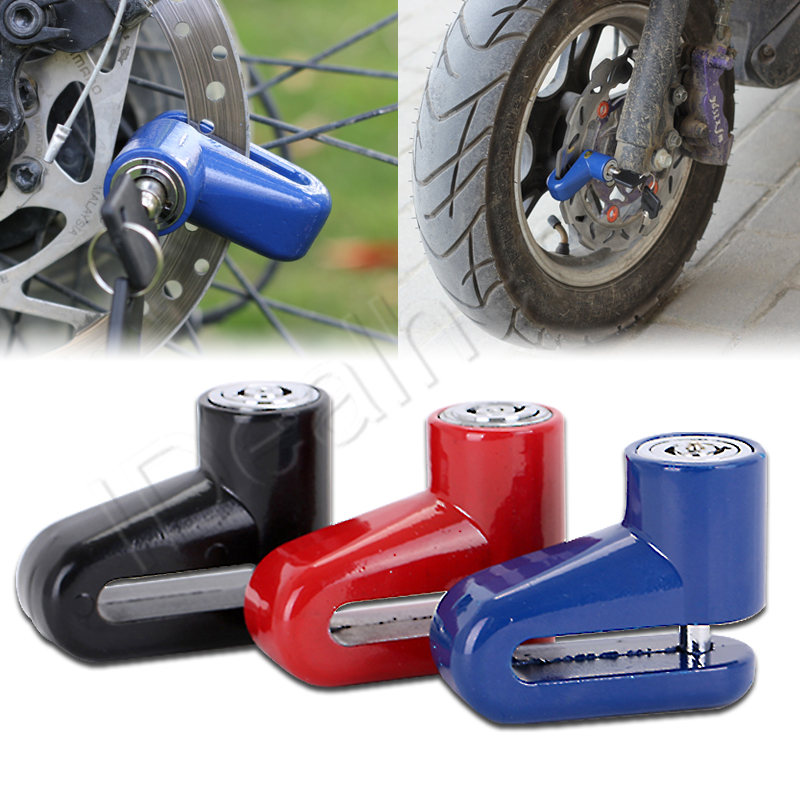 MAYITR Heavy Duty Motorcycle Moped Scooter Disk Brake Rotor Lock Security Anti-theft Motorcycle Accessories Theft Protection diffuseur arrière carbone bmw x4 f26