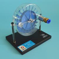 Motor Único Estágio Da Turbina de vapor Modelo de Demonstração de Equipamentos De Laboratório de Física De Brinquedos Científicos QX-M-ZQLJ-02