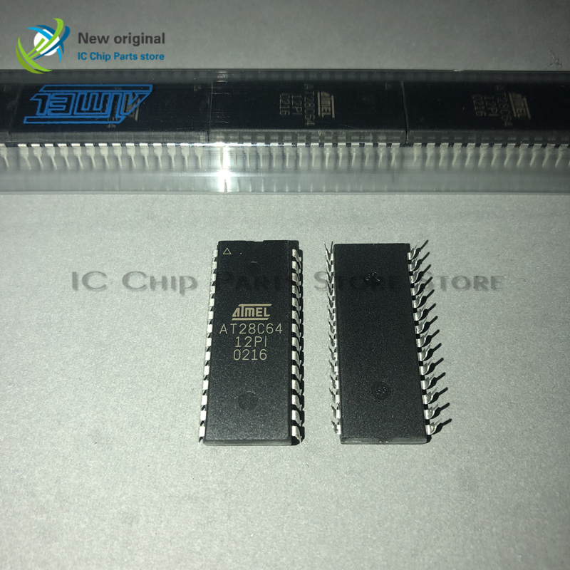 10/PCS AT28C64-12PI AT28C64 DIP28 Integrated IC Chip New Original