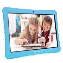 Россия Испания склад корабль Дети планшеты PC 10,1 «дюймов Full HD дисплей Android 7,0, 2 ГБ + 32 двойной камера 2MP 5MP Bluetooth wi fi