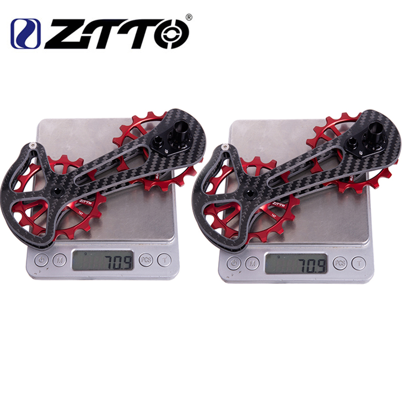 Road bike16T bicycle carbon fiber ceramic rear transmission pulley for Shimano 6800 6870 9000 9070 bicycle