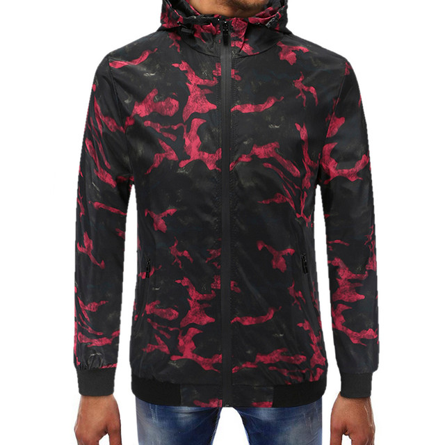 10f97af82b3c3 Srogem Men Camouflage Hooded Sweatshirts Hoodies Stranger Things  Xxxtentacion Harajuku Sudaderas Para Hombre Felpa Uomo Bape 25