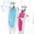 Azul Rosa Unicórnio Onesie Traje Cosplay Animais Flanela Adulto Carnaval Do Partido Do Disfarce do Dia Das Bruxas Roupas Homewear