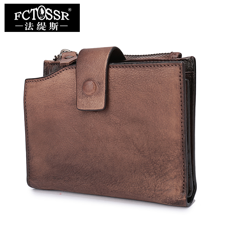 2018 Women Wallets Handmade Genuine Leather Purse Clutch Bags Hasp Short Style Wallet Card Holder korean brand design pu leather solid hasp envelope day evening clutch wallets 16 card bags long wallet for women ladies purse